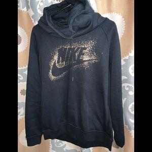 Nike cowl neck hoodie New Large